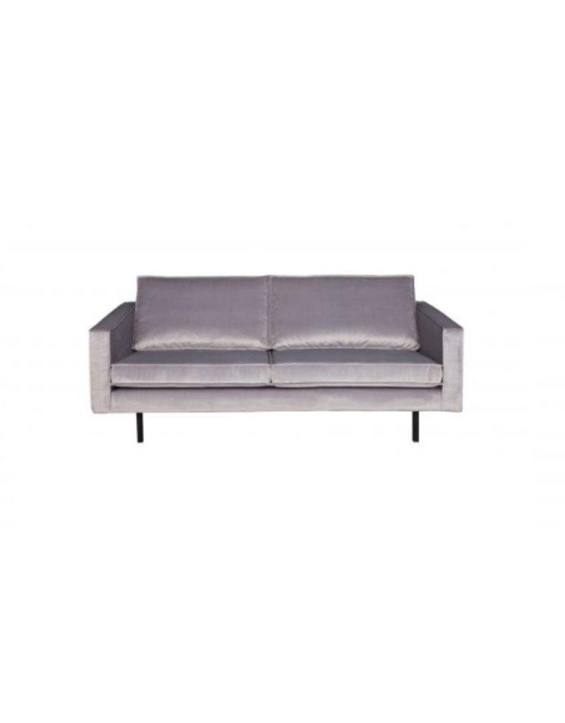 BePureHome Rodeo 2.5 seater sofa velvet light gray