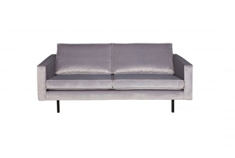BePureHome Rodeo 2.5 seater sofa velvet light gray
