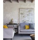BePureHome Rodeo sofa 3-seat velvet light gray