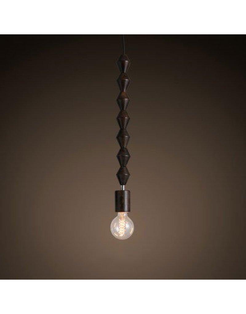 Pracht Label Kralendijk Hängelampe Perlen Lampe dunkel
