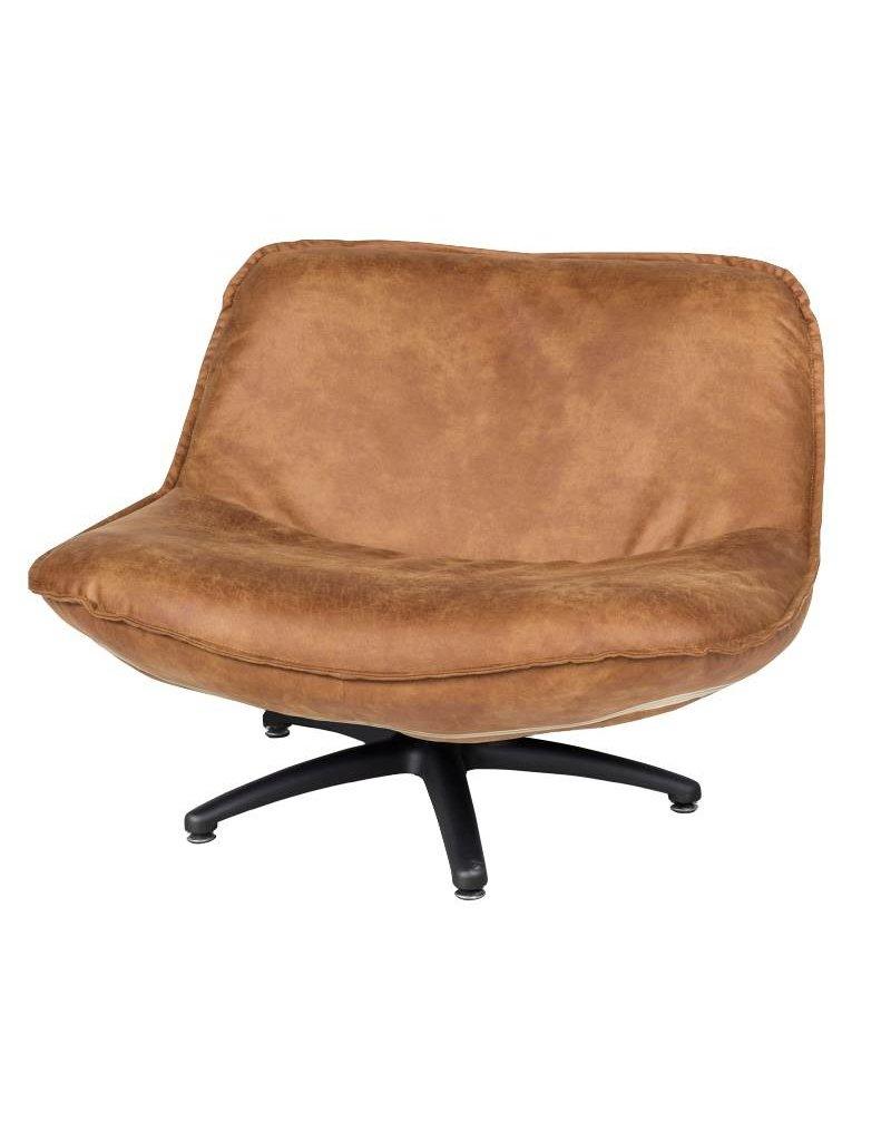 Lifestyle Forli Sessel braun schwarz Beine