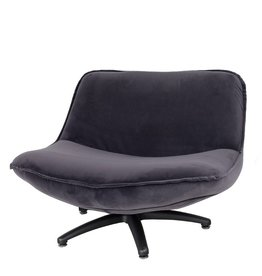 Lifestyle Forli armchair gray black legs