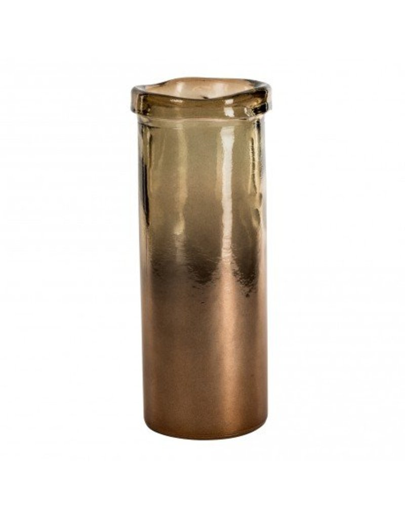 PTMD Melo braun Zylinder Vase M