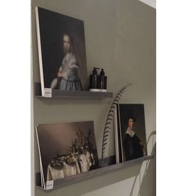 Pracht Label wall shelf metal 100CM