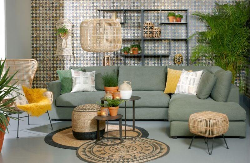 Lifestyle Naples 2,5-Sitzer grün