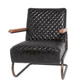 Lifestyle Edward armchair black