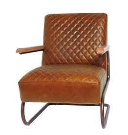 Lifestyle Edward columbia brown armchair