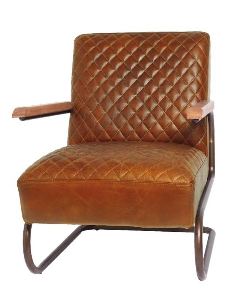 Lifestyle Edward columbia brown armchair