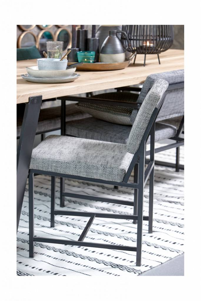 Lifestyle Atkinson dining chair gray