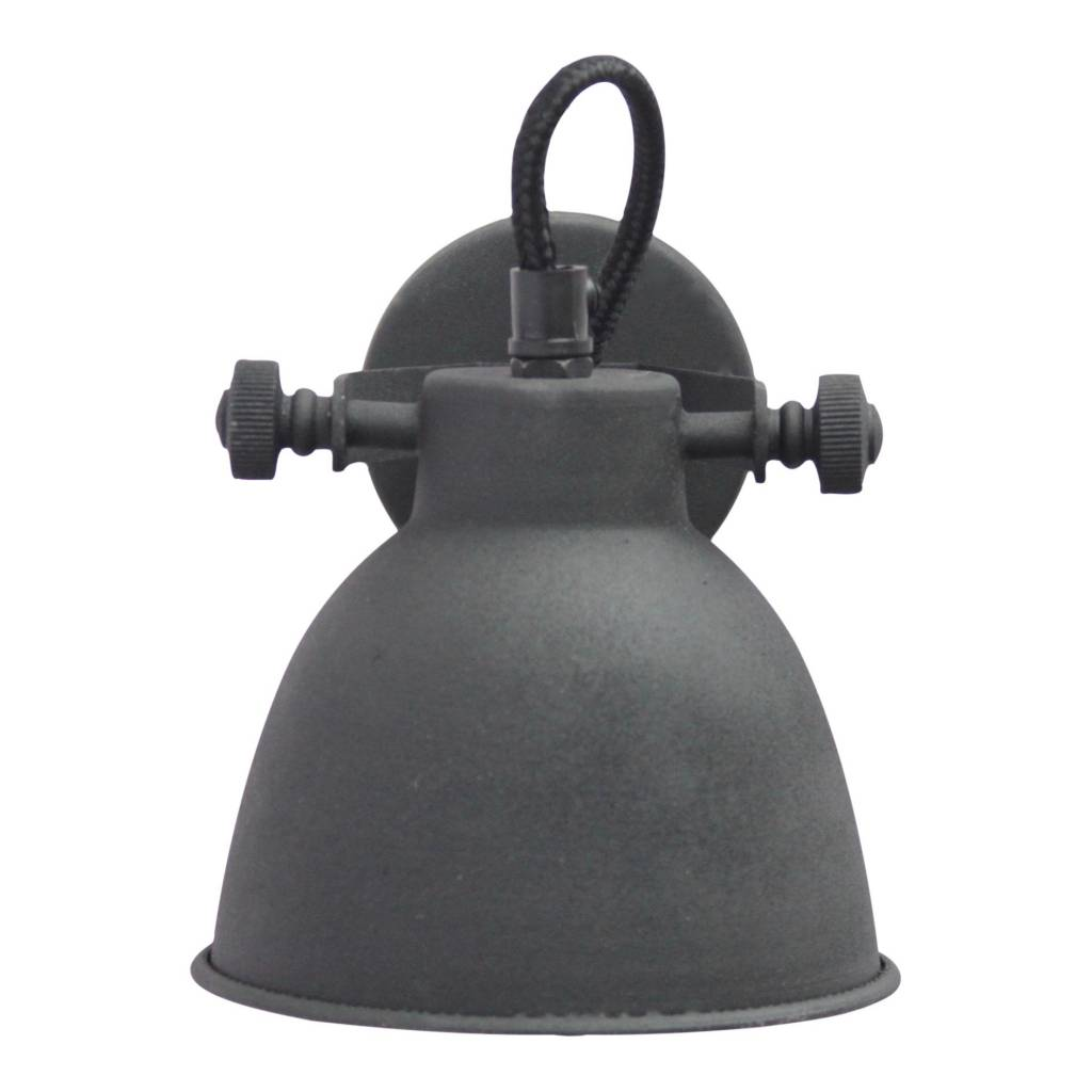 Urban Interiors STOCK SALE Wall lamp industrial vintage black