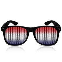Nederlandse Vlag Stickerbril