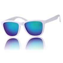 Wayfarer Zonnebril Colors III Wit 1.0 Blauw Groen