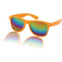 Wayfarer Zonnebril Olie Oranje