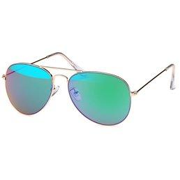 Pilotenbril Groen Blauw