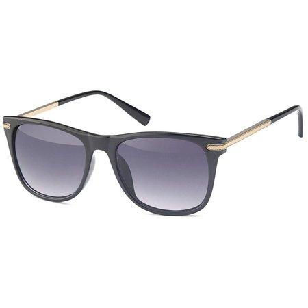 Zonnebril zwart dames