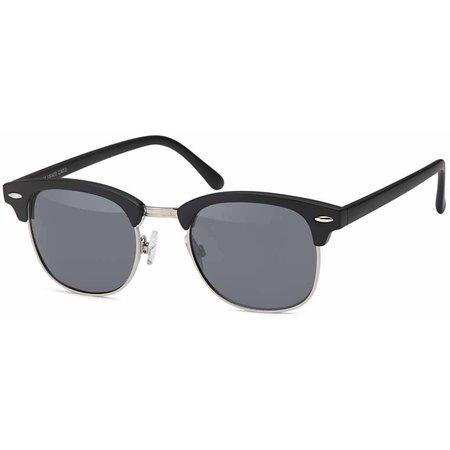 Goedkope Zwarte heren zonnebril