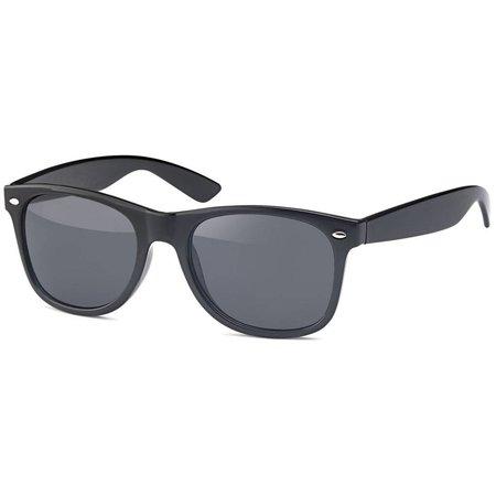 Zwarte Zonnebril met donkere glazen