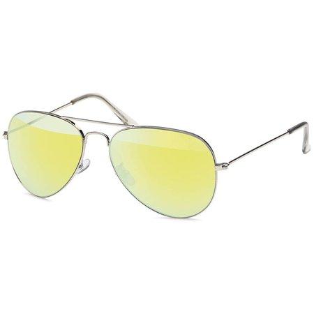 Pilotenbril Lime