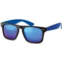 Blauwe Wayfarer blauwe glazen