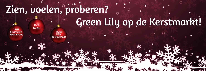 Green Lily op de Kerstmarkt!