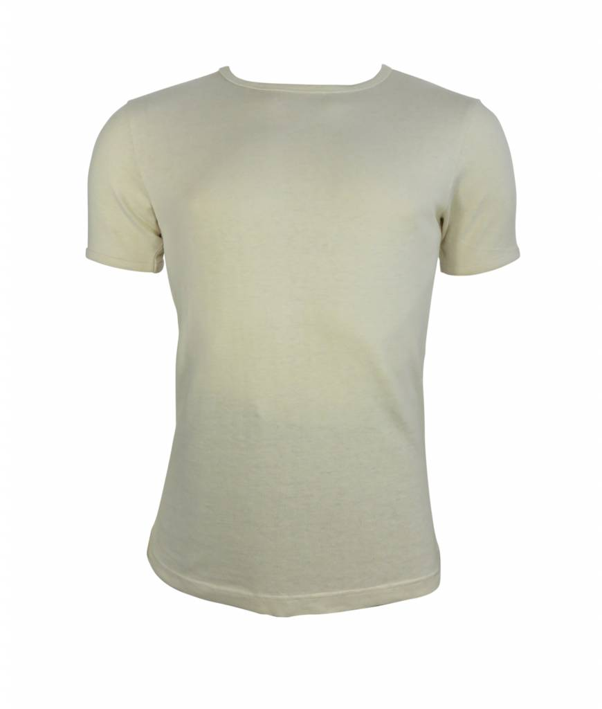 T-shirt Hennep wit from Green Lily