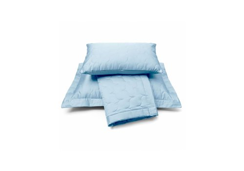 Vandyck Bedsprei SATIN Dusty Blue-114 (blauw)