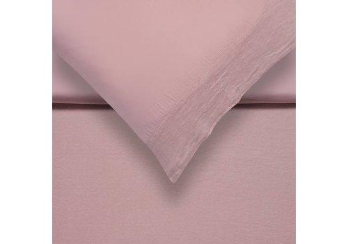 Vandyck PURE 07 dekbedovertrek Sepia Pink (linnen / satijnkatoen)