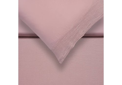 Vandyck PURE 07 duvet cover Sepia Pink (linen / satin cotton)