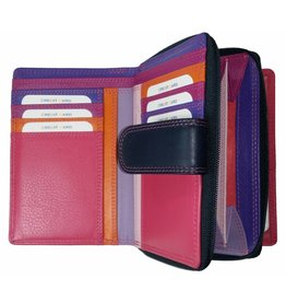 Burkely BURKELY DAMES PORTEMONNEE PAARS MULTICOLOUR