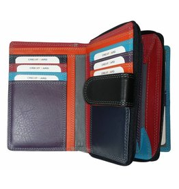 35c6dc0f608e Burkely BURKELY LADIES WALLET BLACK MULTICOLOUR. This soft leather ...