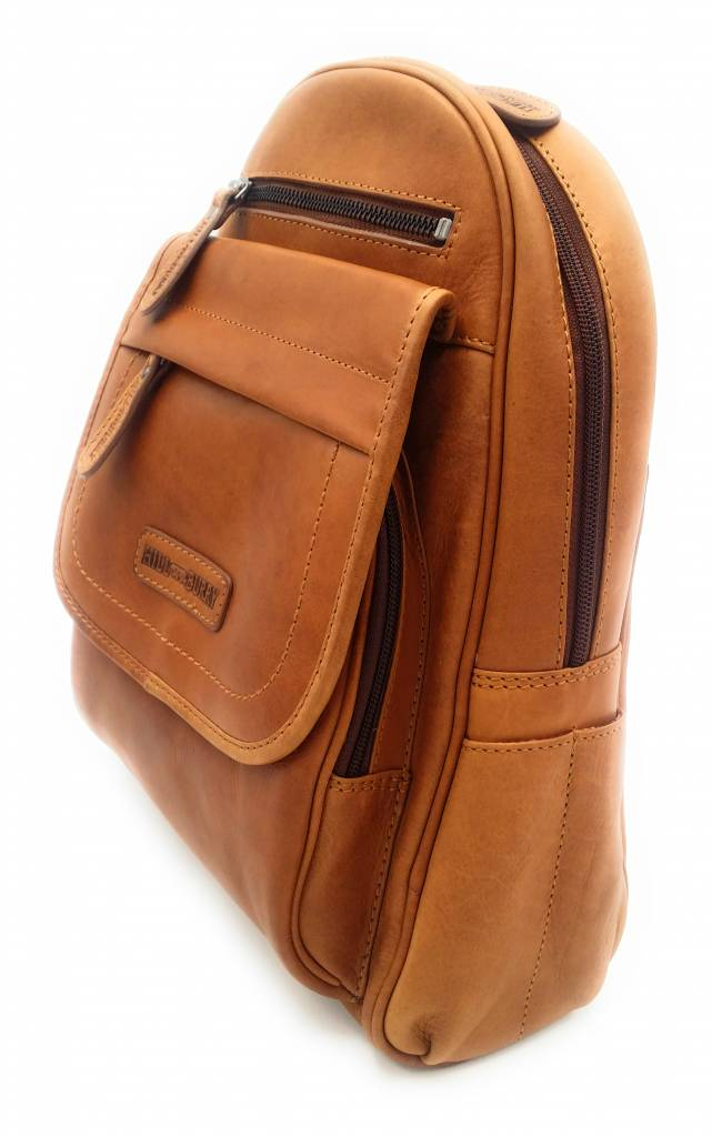 ab357b45d0026 Hill burry real leather women backpack firmly chic appearance vintage  leather brown cognac jpg 641x1024 Hill