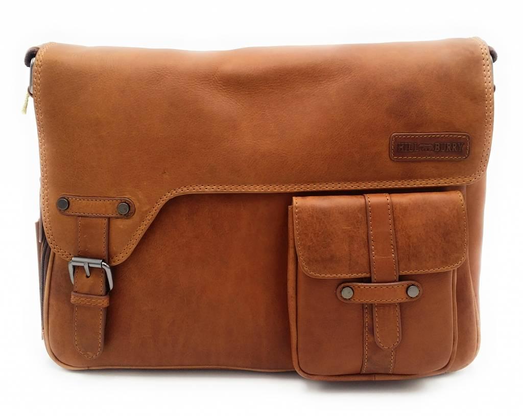 Hill Burry Vb10091 3174 Genuine Leather Shoulder Bag Crossbody
