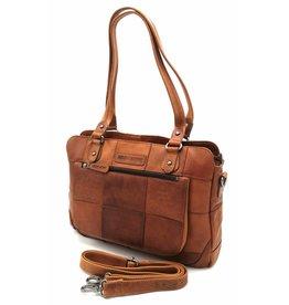 Hill Burry Hill Burry - VB100111 -3197 - genuine leather - ladies -  checkered handbag 366da0165d27a