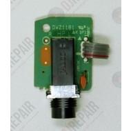Pioneer Hoofdtelefoon jack PCB Assy DWZ1181 / DWZ1088