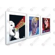 Artvinyl Play & Display Flip Frame (Triple)