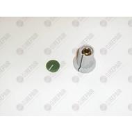 DateQ Green colored button GPM8