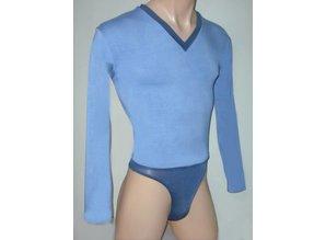 Male-Bodysuit Two-Tone