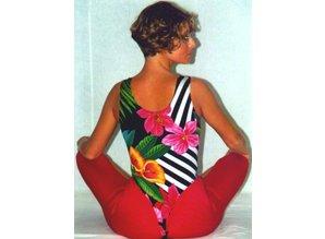 Female-Bodysuit Champion - Monaco red