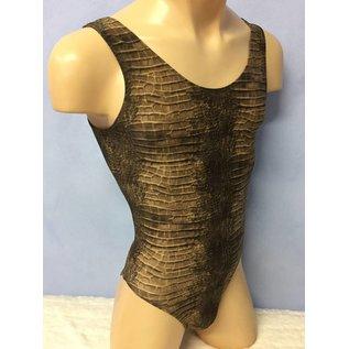 Male-Body- or Swimsuit Undershirt Style - Anaconda