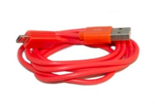 Universeel USB Data OplaadKabel Oranje