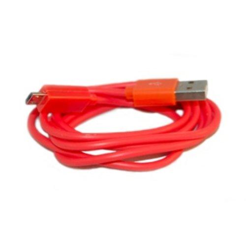 Huismerk Universeel USB Data OplaadKabel Oranje