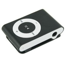 Mini USB MP3 Music Media Player Zwart