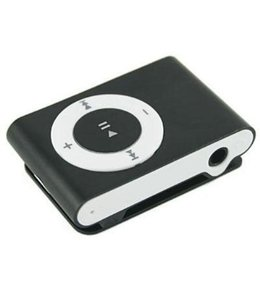 Huismerk Mini USB MP3 Music Media Player Zwart