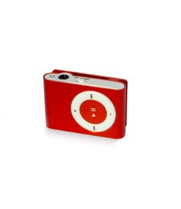 Huismerk Mini USB MP3 Music Media Player Rood