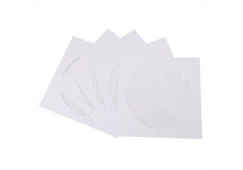Huismerk CD / DVD Enveloppen 100 stuks