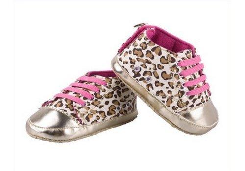 Huismerk Leopard Baby Schoenen Roze 12