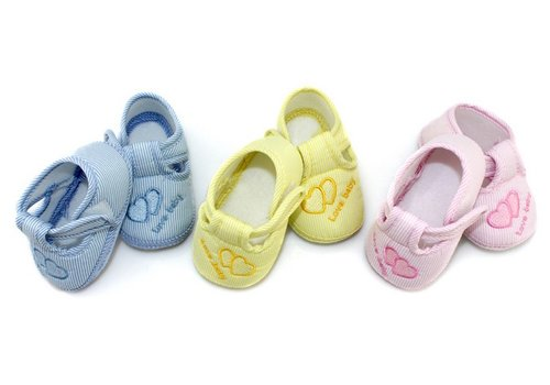 Huismerk Hart Baby Antislip Sokken Blauw