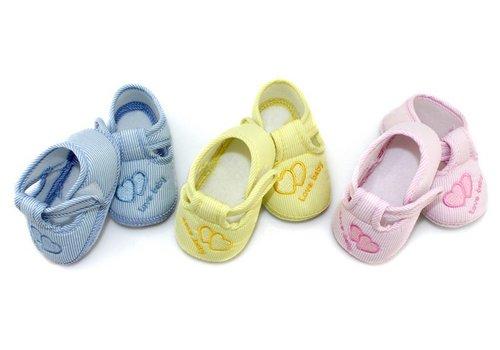 Huismerk Hart Baby Anti-Slip Sokken Roze