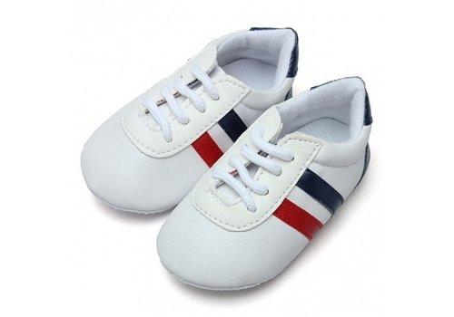 Huismerk Baby Anti-Slip Schoenen Wit