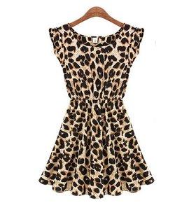 Huismerk Leopard Jurk